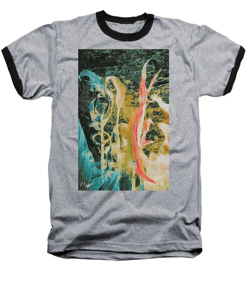 Seaweed Baseball T-Shirt by William Wyckoff