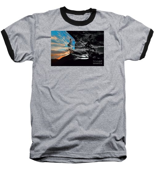 Sechelt Tree Series 3 Baseball T-Shirt by Elaine Hunter