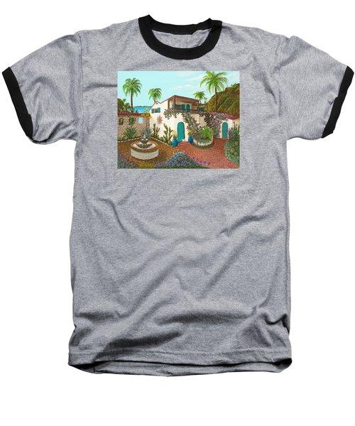 Secluded Paradise Baseball T-Shirt