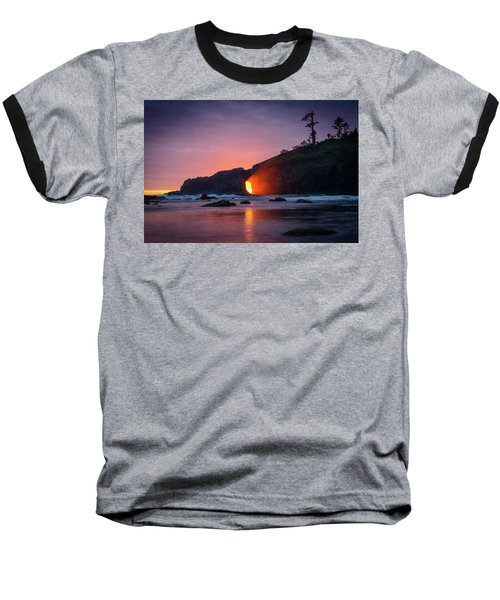 Second Beach Light Shaft Baseball T-Shirt