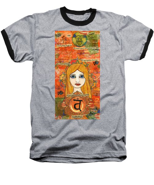 Second Chakra Baseball T-Shirt