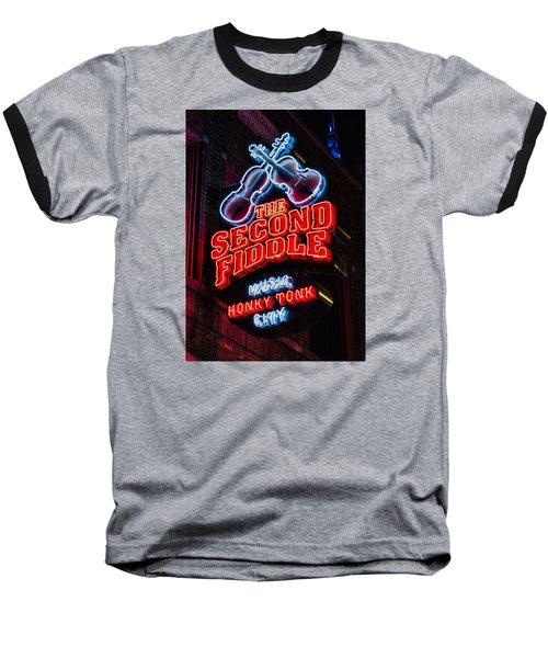 Second Fiddle Baseball T-Shirt by Stephen Stookey
