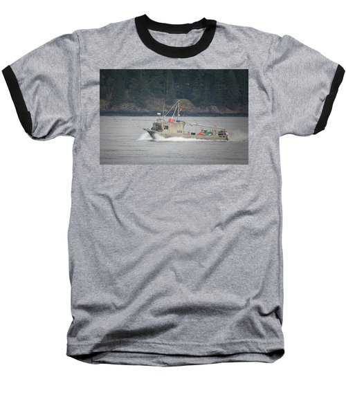 Baseball T-Shirt featuring the photograph Second Wind by Randy Hall