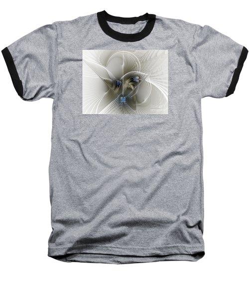 Baseball T-Shirt featuring the digital art Secret Chambers by Karin Kuhlmann