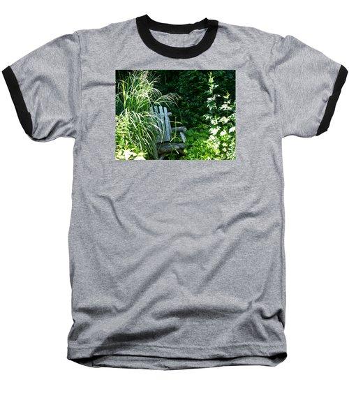 Secret Garden Baseball T-Shirt by Tina M Wenger
