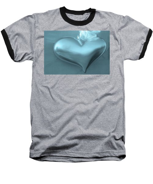 Baseball T-Shirt featuring the photograph Secret Heart by Juergen Weiss