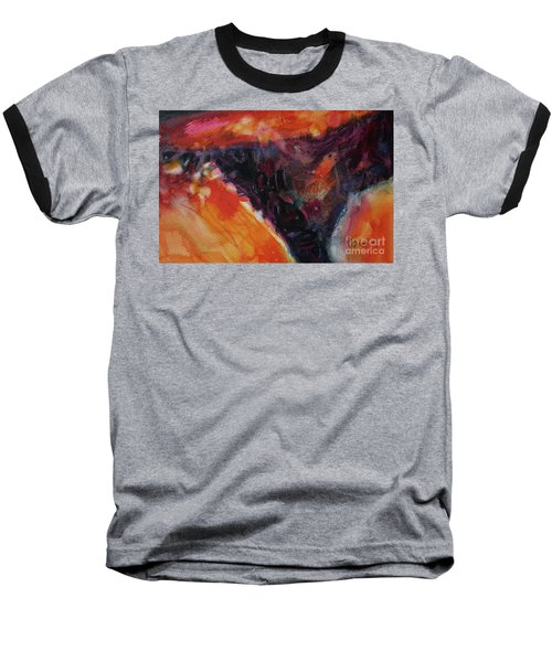 Baseball T-Shirt featuring the painting Secret Hideaway by Kathy Braud
