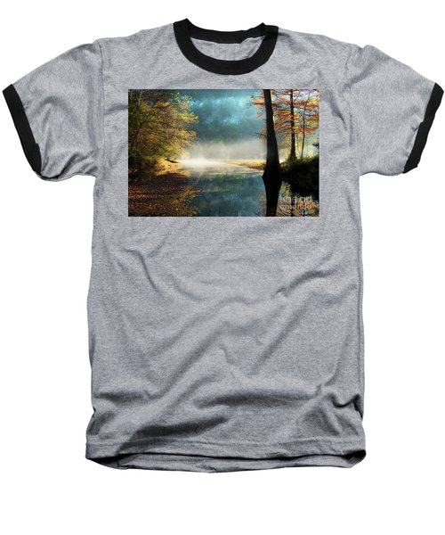 Baseball T-Shirt featuring the photograph Secret Hideaway by Tamyra Ayles