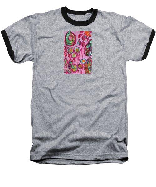 Secret Life Of Flowers Baseball T-Shirt
