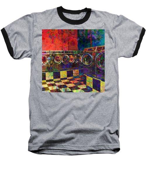Secret Life Of Laundromats Baseball T-Shirt