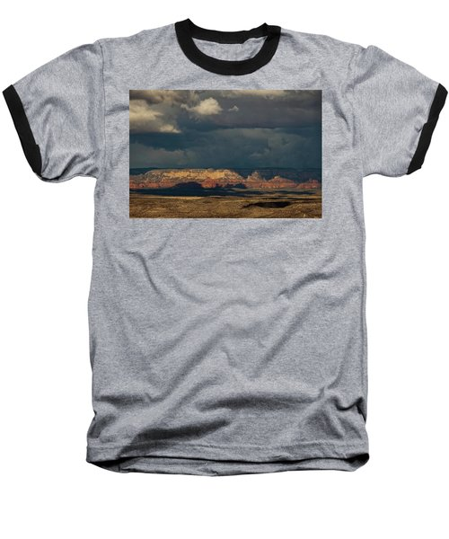 Secret Mountain Wilderness Storm Baseball T-Shirt