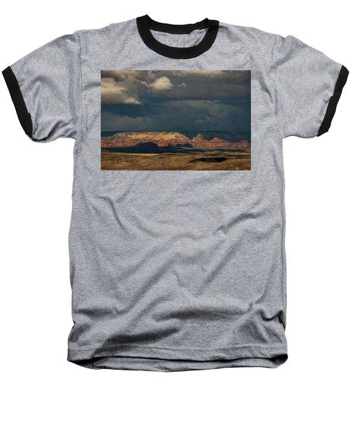 Secret Mountain Wilderness Storm Baseball T-Shirt