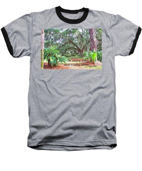 Secret Pathway Baseball T-Shirt