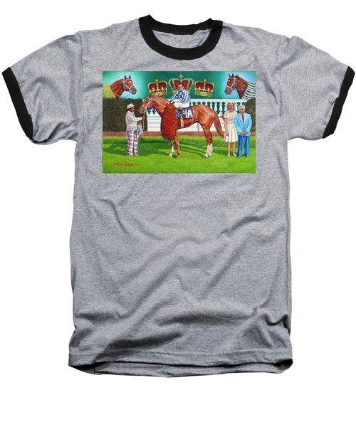 Secretariat Baseball T-Shirt