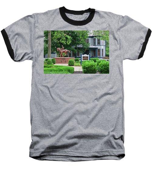 Secretariat Statue At The Kentucky Horse Park Baseball T-Shirt