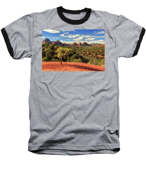 Baseball T-Shirt featuring the photograph Sedona Afternoon by James Eddy