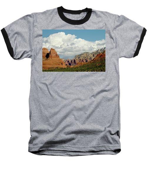 Baseball T-Shirt featuring the photograph Sedona Arizona by Bill Gallagher