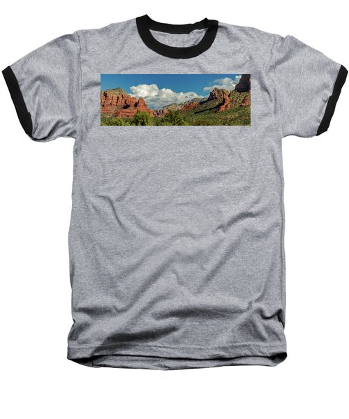Baseball T-Shirt featuring the photograph Sedona Panoramic II by Bill Gallagher