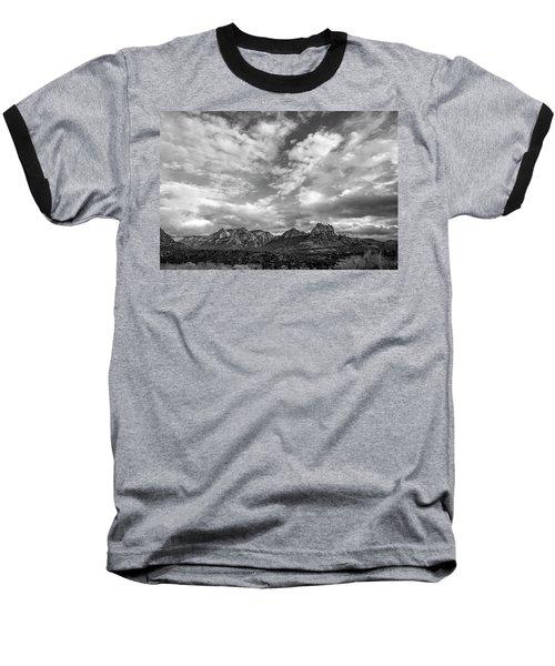 Sedona Red Rock Country Bnw Arizona Landscape 0986 Baseball T-Shirt