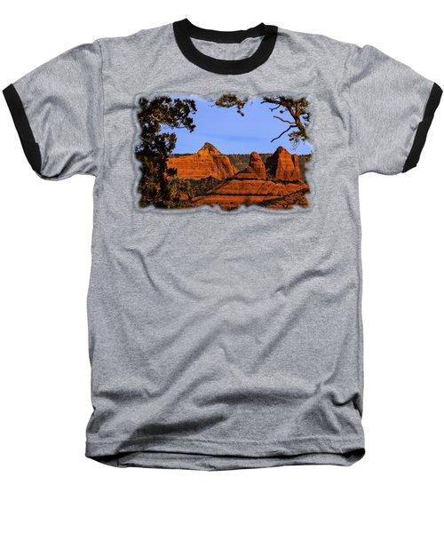 Sedona Red Rocks Baseball T-Shirt