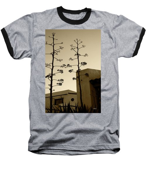 Baseball T-Shirt featuring the photograph Sedona Series - Desert City by Ben and Raisa Gertsberg