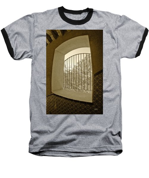 Baseball T-Shirt featuring the photograph Sedona Series - Through The Window by Ben and Raisa Gertsberg