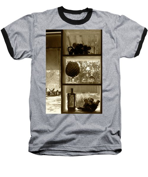 Baseball T-Shirt featuring the photograph Sedona Series - Window Display by Ben and Raisa Gertsberg