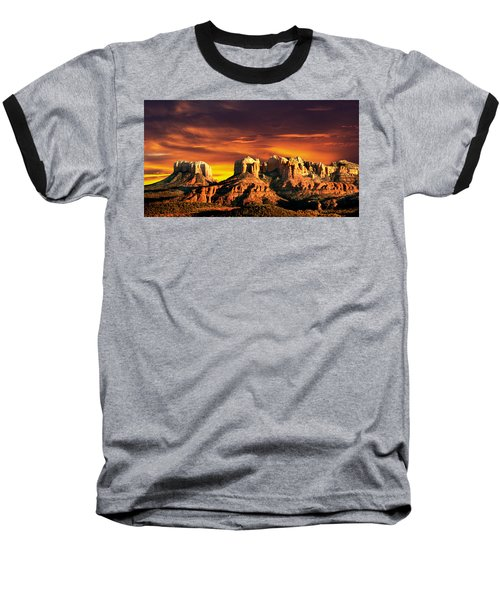 Sedona Vista Baseball T-Shirt