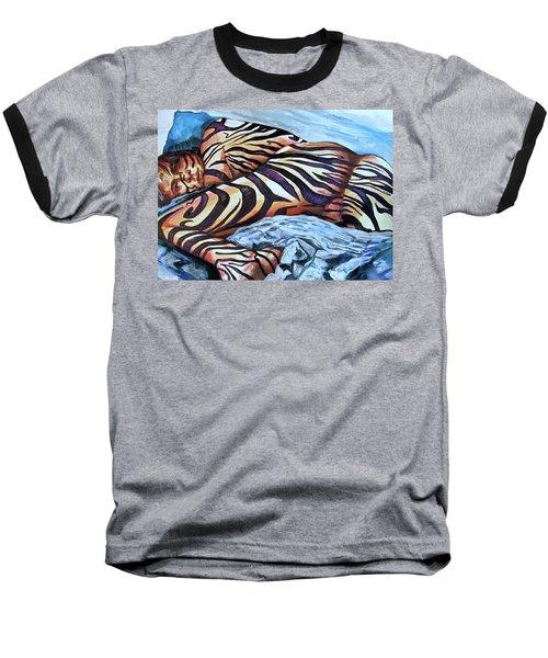 Seduction Of Stripes Baseball T-Shirt