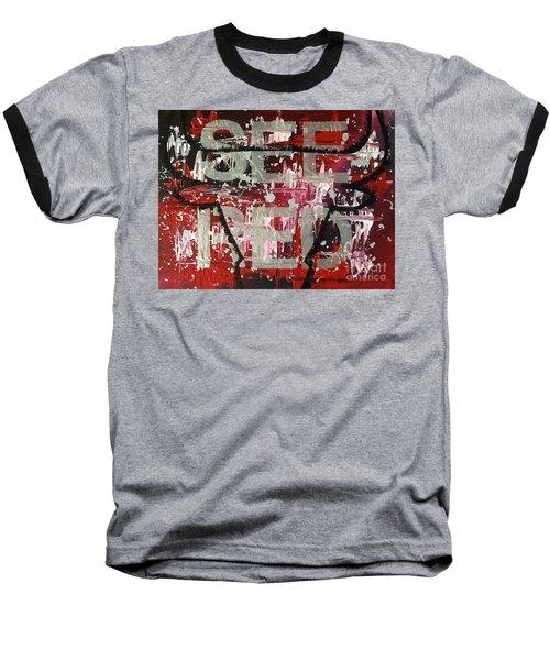 See Red Chicago Bulls Baseball T-Shirt by Melissa Goodrich