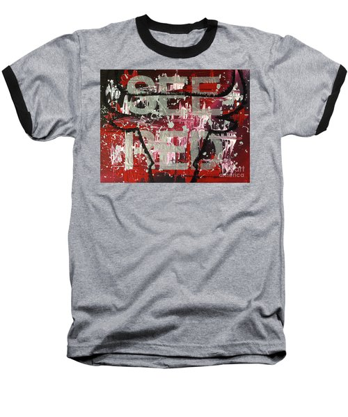 See Red Chicago Bulls Baseball T-Shirt