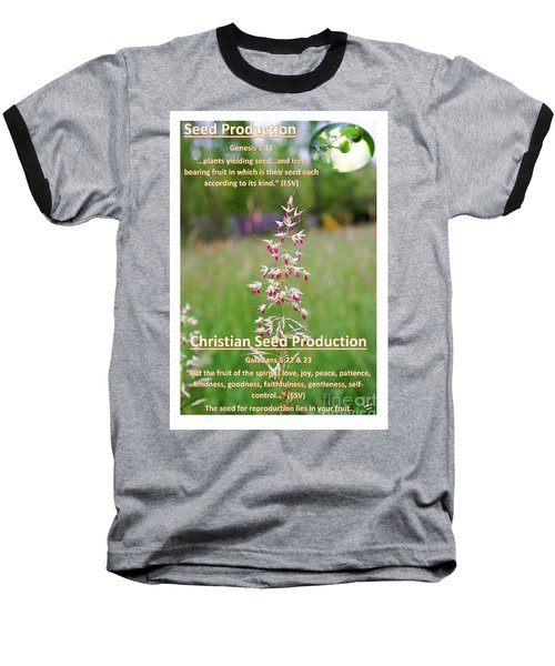 Seed Production Baseball T-Shirt