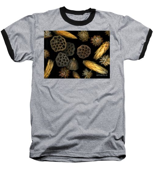 Seeds And Pods Baseball T-Shirt