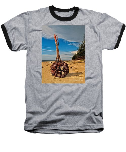 Baseball T-Shirt featuring the photograph Seeds For The World by Gary Bridger