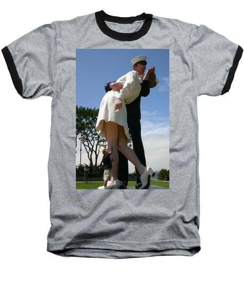 Baseball T-Shirt featuring the photograph Seeeeport Village San Diego by Marie Neder