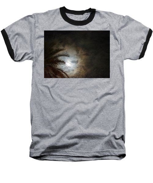 Seeing Heaven  Baseball T-Shirt by Carolina Liechtenstein