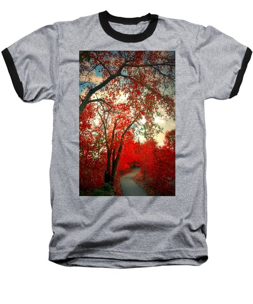 Baseball T-Shirt featuring the photograph Seeing Red 2 by Tara Turner