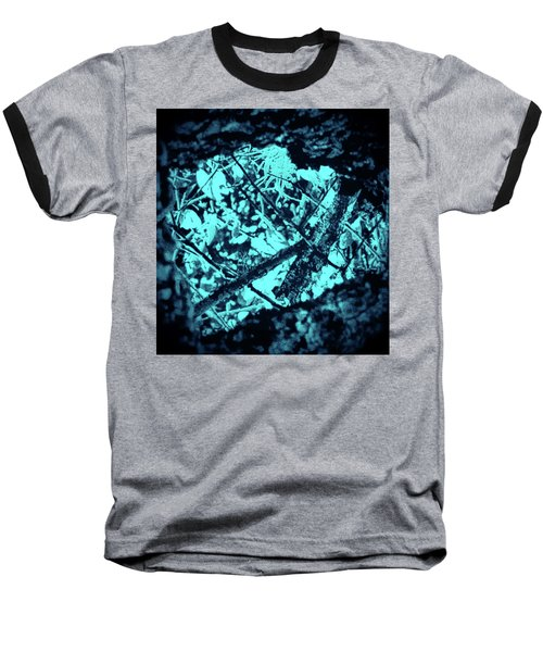 Seeing Through Trees Baseball T-Shirt by Gina O'Brien