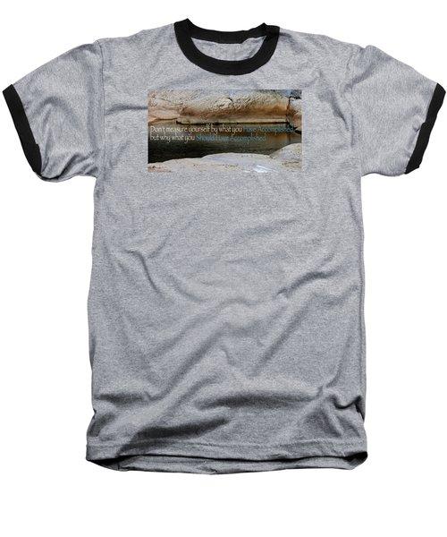 Seek Deeper Baseball T-Shirt by David Norman