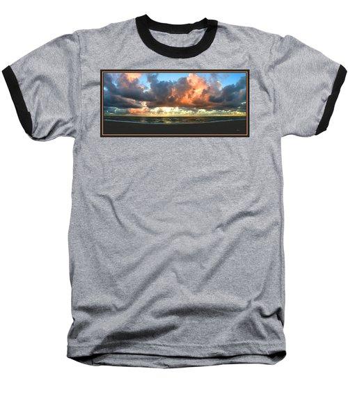 Seeking Peace Baseball T-Shirt