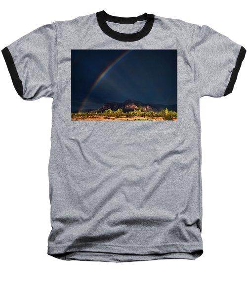 Baseball T-Shirt featuring the photograph Seeking That Pot Of Gold  by Saija Lehtonen