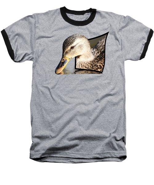 Seeking Water Baseball T-Shirt by Shane Bechler