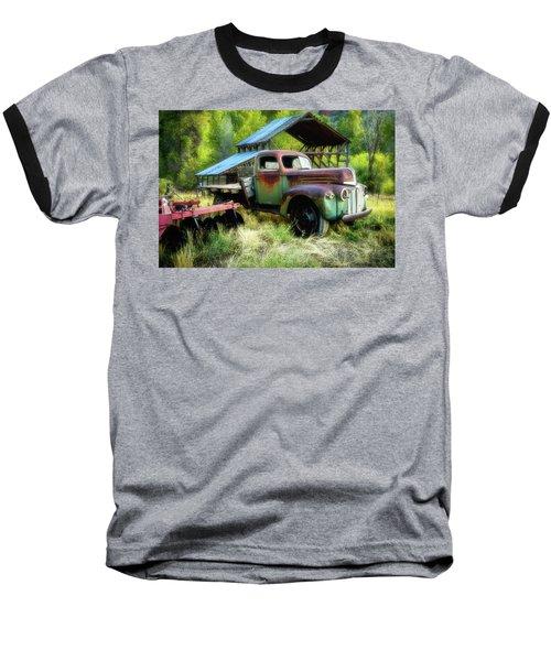 Seen Better Days - Ford Farm Truck Baseball T-Shirt