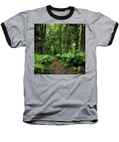 Seeswood, Nuneaton Baseball T-Shirt by John Edwards