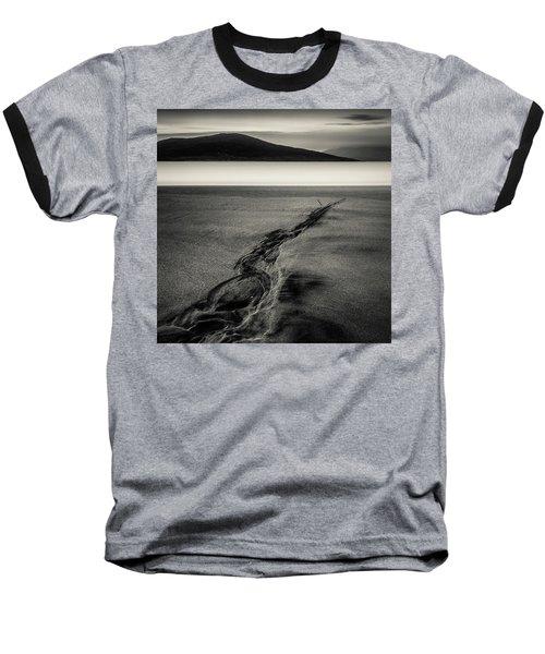 Seilebost Sand Tracks Baseball T-Shirt