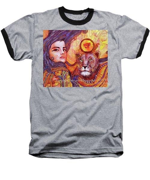 Sekhmet Baseball T-Shirt