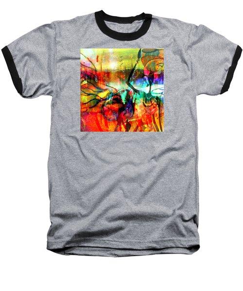 Self Employed Baseball T-Shirt by Fania Simon