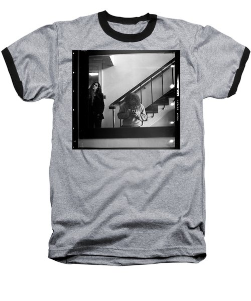 Self-portrait, With Woman, In Mirror, Full Frame, 1972 Baseball T-Shirt