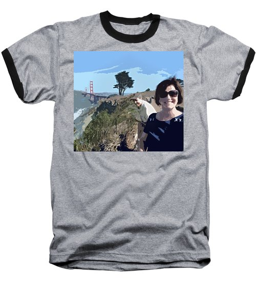 Selfie In San Francisco Baseball T-Shirt