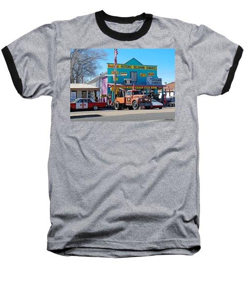 Seligman Sundries On Historic Route 66 Baseball T-Shirt